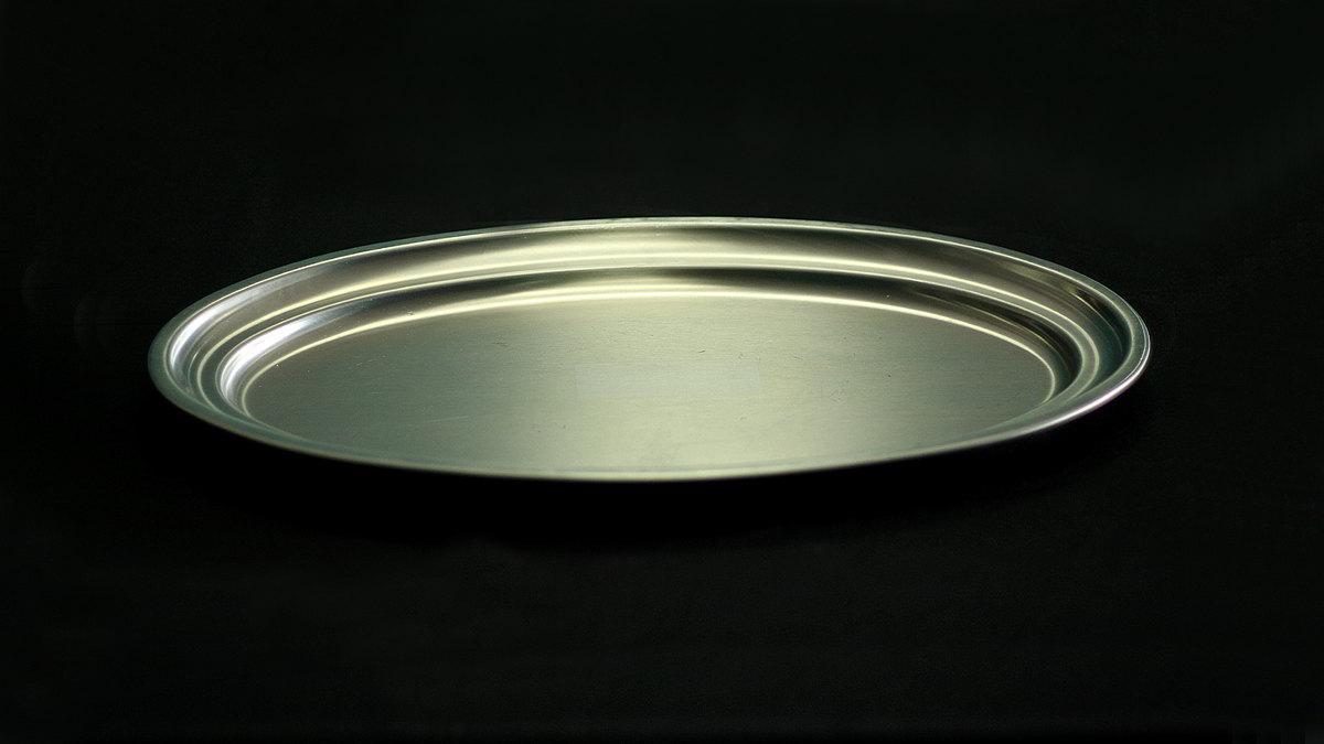 Bandeja Acero Inoxidable 50 cm